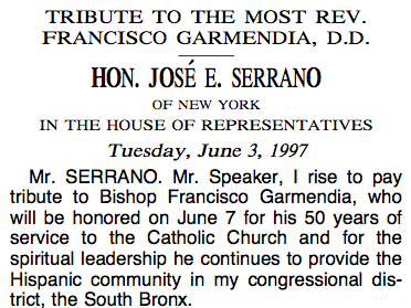 Congressional Tribute